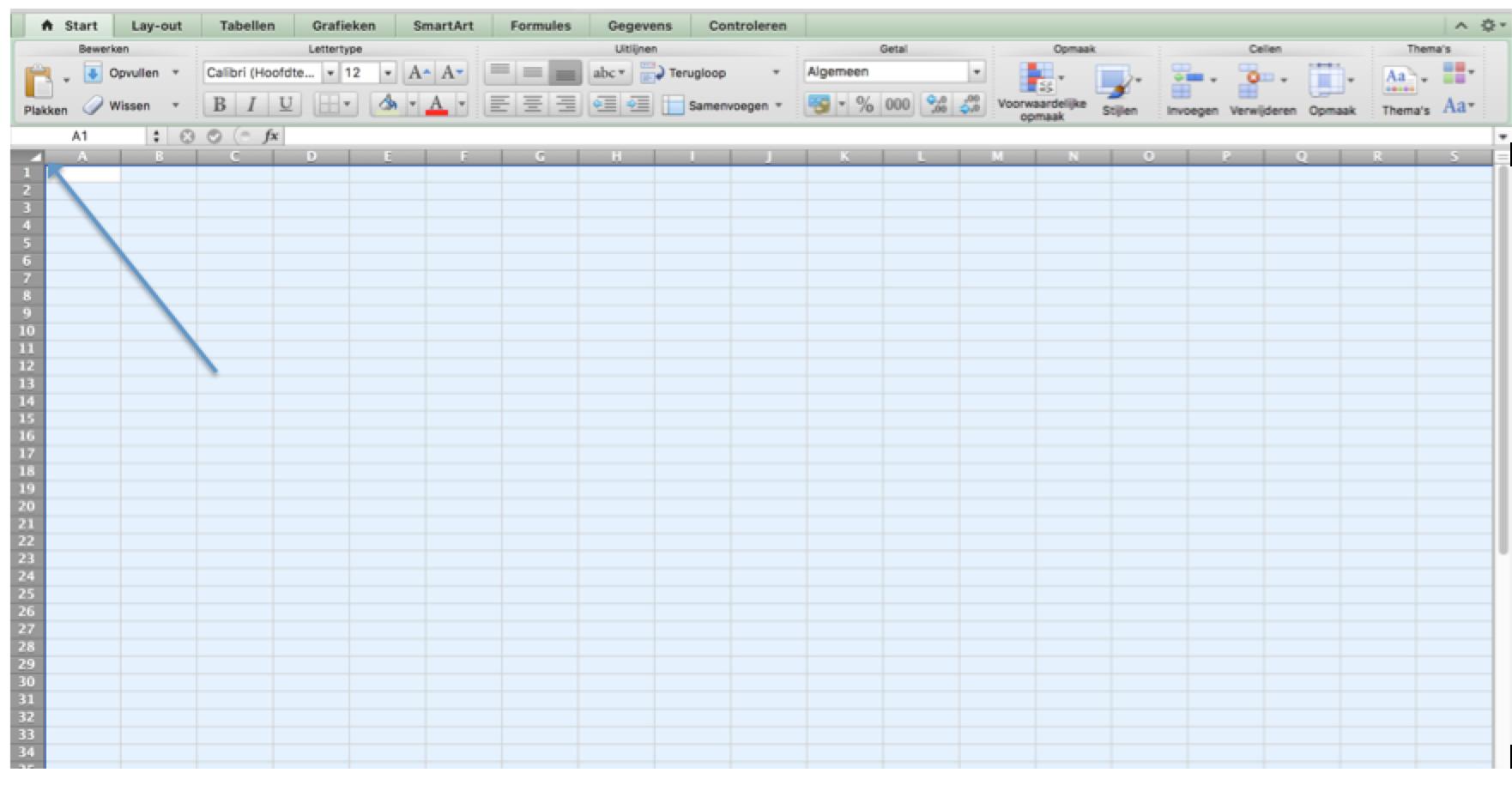 Cellen beveiligen in Excel