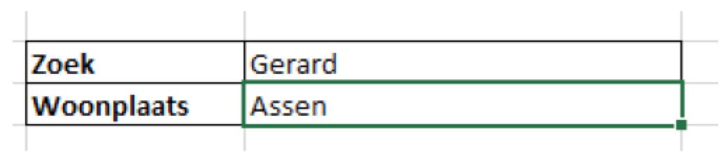 De functie verticaal zoeken in Excel (VLOOKUP)
