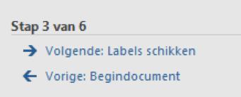 Adressen op etiketten afdrukken