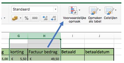 Fout waarden verbergen in Excel
